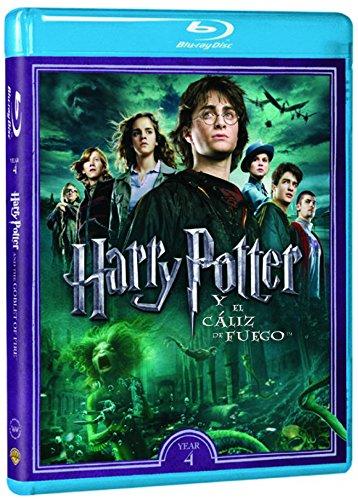 Harry Potter Y El Cáliz De Fuego. Nueva Carátula - Nueva Carátula [Blu-ray]