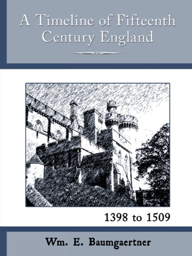 A Timeline of Fifteenth Century England - 1398 to 1509
