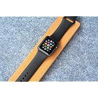 eimolife ® 2015 nuovo portatile Apple piccoli in legno orologio