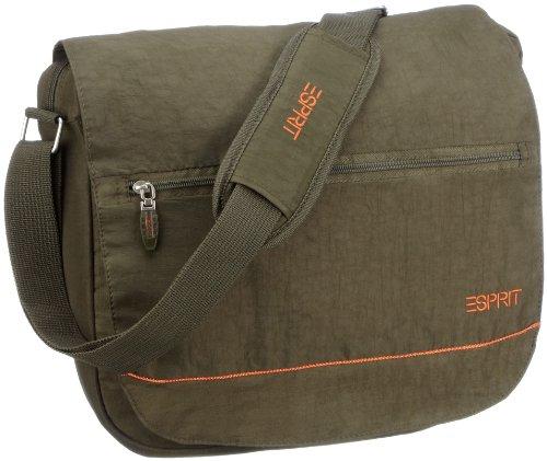 Preisvergleich Produktbild ESPRIT Messenger / Laptop Tasche Casual,  military green,  37x33x9