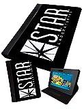 Star Labs | Printed Tablet Schutzhülle, klappbar Faux | Samsung Galaxy Tab 2| 17,8cm (P3100)