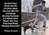 Motivational–Rocky Balboa 23–Boxen–Zitate–A3Poster–A3Poster–Zitat Zeichen Poster Kunstdruck Bild, Sport, Rocky