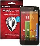 "MediaDevil Motorola Moto G 1. Generation (2013, 4.5"" Bildschirm) Displayschutzfolie: Magicscreen Crystal Clear (Unsichtbar) Edition - (2 x Schutzfolien)"