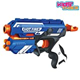 #8: Kids Choice Blaze Storm Soft Bullet Gun Toy with 10 Safe Soft Foam Bullets (T7036)