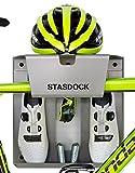 Stasdock Fahrrad Wandhalterung Silber