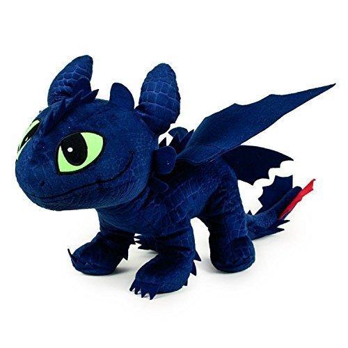 Dragons TOOTHLESS Dark Fury PLUSCH Peluche ENORM 60cm Drachentrainer DRAGON TRAINER