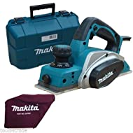 "Makita KP0800K 3""/82mm Planer in Carry Case 110V + Dust Bag"