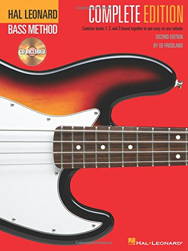 Electric bass method complete édition guitare basse+2cds: Complete Edition