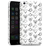 Hülle Premium Case Cover für Apple iPhone 6 Disney Mickey Mouse Vintage