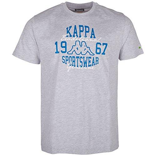 Kappa Herren Antoni T-Shirt 18M grey melange
