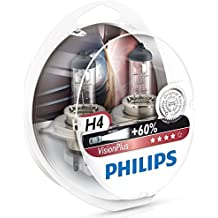 Philips 0730529 12342Vps2 H4 Visionplus, 55W, 12V Showbox