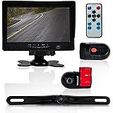 Pyle PLCMDVR72 Dash Cam Vehicle Driving Video Camera Monitor System Kit 7 Display