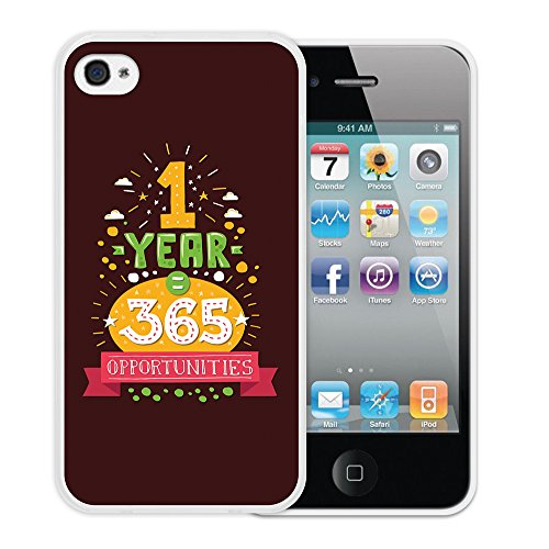 iPhone 4 iPhone 4S Hülle, WoowCase Handyhülle Silikon für [ iPhone 4 iPhone 4S ] Regenbogen Eule Handytasche Handy Cover Case Schutzhülle Flexible TPU - Transparent Housse Gel iPhone 4 iPhone 4S Transparent D0285