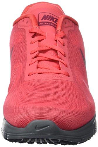 Nike 719912-802 Herren Trail Runnins Sneakers Blau (Glutglühen/Teamrot-Schwarz)