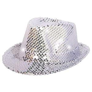 Max Bersinger 816-24-071 gorro, gorra, sombrero y tocado - Gorros, gorras, sombreros y tocados (Adulto, Unisex, Gorro, Plata, Sombrero fedora)