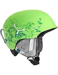Cébé Suspense Deluxe para casco de esquí, invierno, unisex, color  - verde, tamaño 56-58 cm