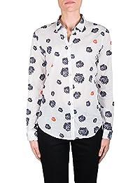 Saint James Shirt White / Marine / Peach 2209 Celia ML