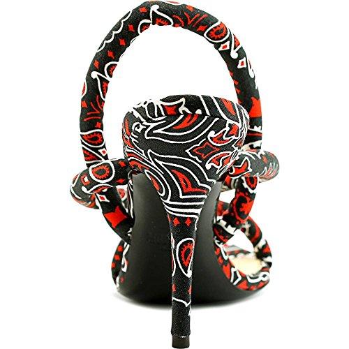 Moschino MA1601AC1KMI0000 Textile Sandale Black