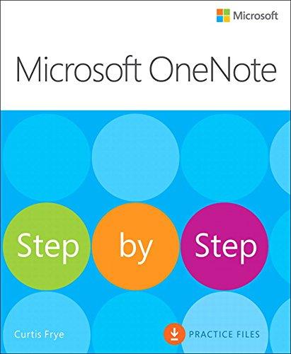 Microsoft OneNote Step by Step (Step By Step (Microsoft))