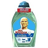 """Mr. Propre–Reinigungsmittel-Konzentrat für verschiedene Oberflächen, Duft """"Fraicheur du Matin"""", 400ml–2er-Set"""