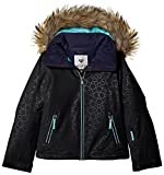 Roxy Mädchen Jk Jet Ski-Snow Jacket 8-16, Anthracite, 14/XL
