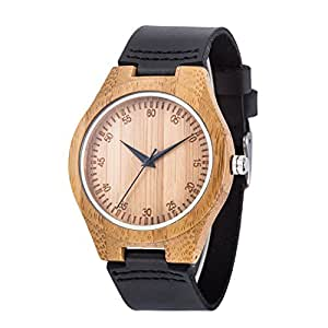 Orologio di legno uwood dell 39 orologio di legno dell 39 uomo for Orologio legno amazon