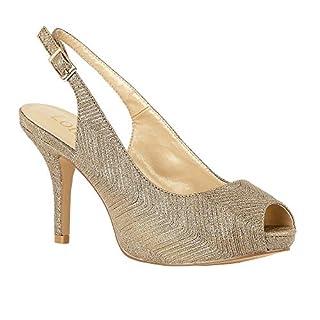 Lotus Gold Adora Sling-Back Shoes 4