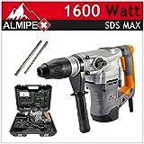 1500 Watt SDS MAX foro Hammer foratura martello impatto professionale per scalpello martello scalpello valigetta