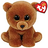 TY - Classics Brownie, oso pardo de peluche, 15 cm, color marrón (42109TY)