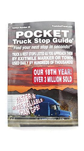 Road Life Publications Pocket Truck Stop Guide by ROADLIFE PUBLICATIONS (Truck Stop-guide)