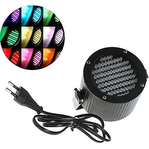 Lixada Cameo Light - Spot riflettore LED in corpo nero, fase del partito della luce,Faro LED, proiettore per palco, discoteca, feste private, sposa