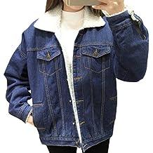 innovative design a1a4b 122f7 Amazon.it: giacca di jeans imbottita