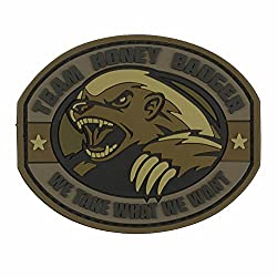 Mil-spec Monkey Patch - Honey Badger Pvc Desert