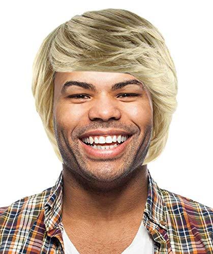 Gefrorene Kristoff Perücke   Blonde Cosplay Halloween Wig MTO HM-223 (Erwachsener)