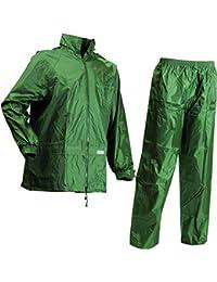 Lyngsoe LR104054/08/XXXXL Set de pluie Veste/Pantalon Taille XXXXL Vert