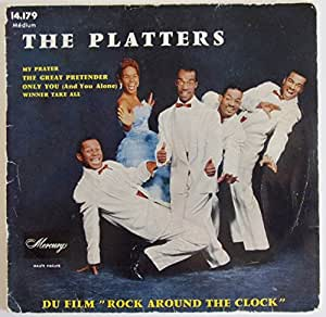 THE PLATTERS/..MY PRAYER-ONLY YOU../LP VINYL 45 TOURS 4 TITRES ORIGINAUX