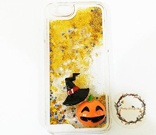 ssigkeit Wasser schwimmende Sterne Luxus Bling Glitzer Sparkle Hard Schutzhülle für iPhone 6S 11,9cm & iPhone 611,9cm, Halloween #3 ()