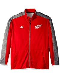 more photos 4a389 1dea1 adidas Felpa Authentic Full Zip Track Jacket, Uomo, 6542AH A6L, Red, S