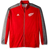 adidas NHL Mens Authentic Full Zip Track Jacket