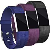 Mornex Kompatibel Fitbit Charge 2 Armband, Original Ersatzarmband, Sport Fitness Watch Band