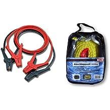 TFA Alu-Tec Starthilfe-Kabel 2x 3m /Überbr/ückungskabel Set mit vollisolierten Polzangen erf/üllt DIN 72553 inkl Tasche