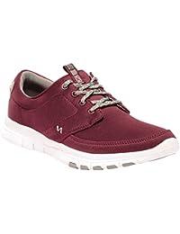 Regatta Turnpike Lite leggero antiscivolo scarpe di tela, Uomo, Navy/DelhiRd, UK Size 11 (EU 46)