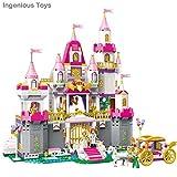 Ingenious Toys princess royal golden wings castle - building block construction set #B612