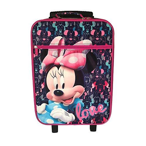 Disney Minnie D97694 Valigia Per Bambini, Trolley Da Cabina, 53 Centimetri, 25 Litri, Multicolore