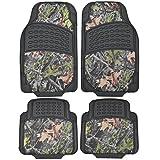 BDK Camouflage 4Stück alle Wetter Wasserdicht Gummi-Bodenmatten–Für die meisten Auto Truck SUV, zuschneidbar, schwere Pflicht