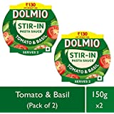 Dolmio Pasta Sauce Tomato & Basil, Stir In (Pack Of 2), 2 * 150gm