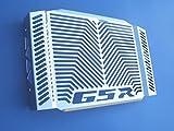 RoMatech Tapa protectora de acero inoxidable para el radiador de Suzuki GSR 600
