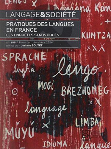 Pratiques des langues en France : Les enquêtes statistiques