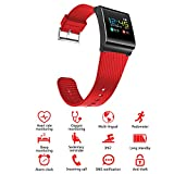 Smart Band X9 Pro / Sport - Fitness Armband mit Pulsmesser / Activity watch Tracker / Uhr / Wasserdicht IP67 - ROT
