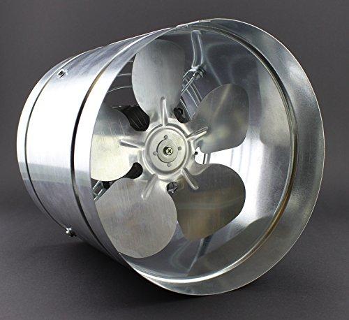 Ventola canalizzata diametro 210 mm IP44 405 m³/h WK, a bassa pressione con condotto assiale, valvola radiale ATOR